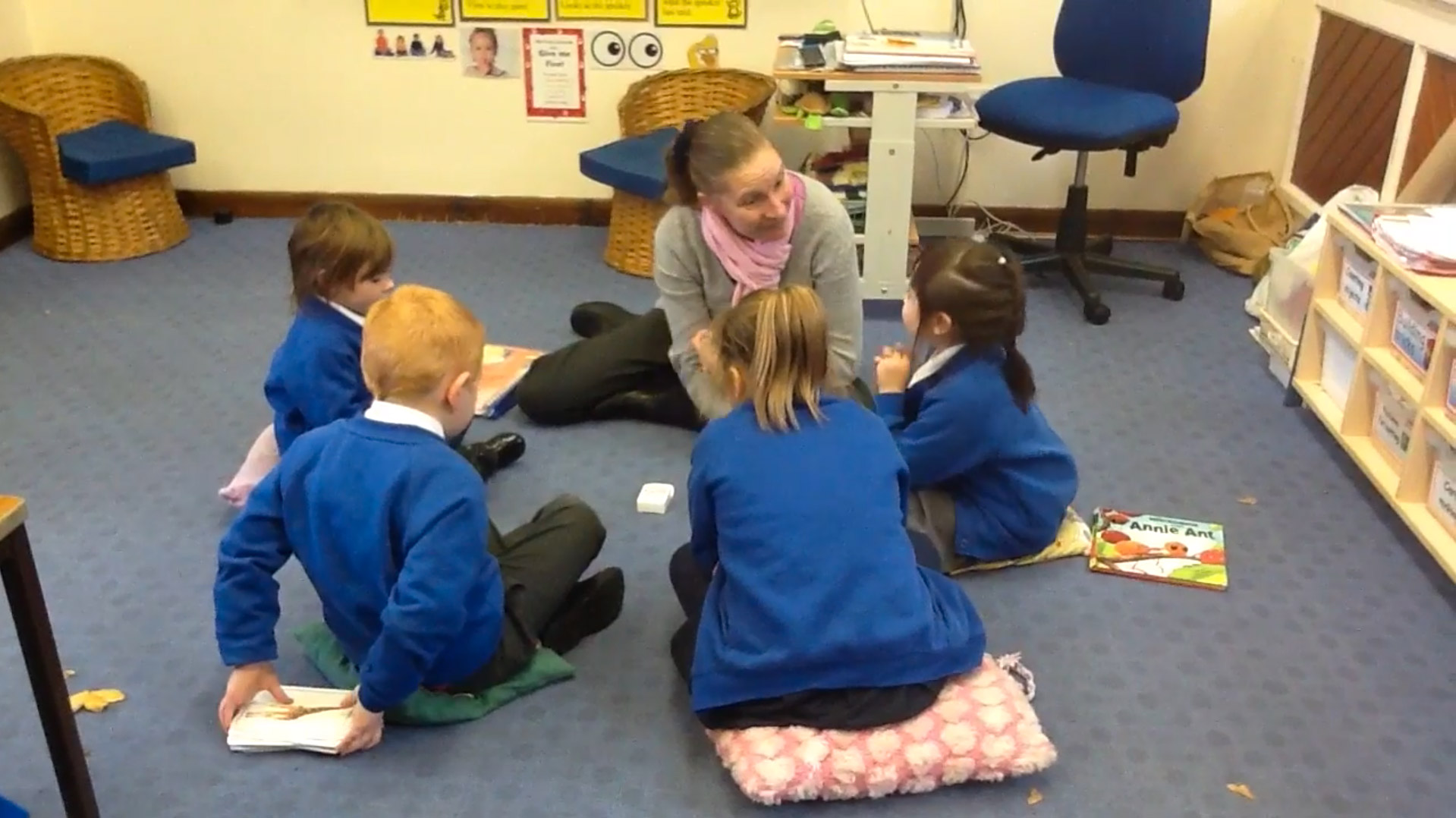 SWAP Phonics Game